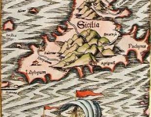 Incisione Sicilia 1500