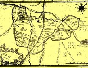 Mappa Antica di Feudo Montoni