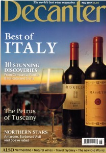 Decanter May 2017 - copertina